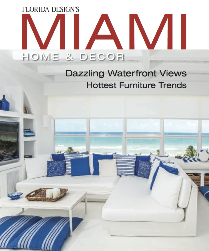 Florida Design Miami Home Decor Editorial